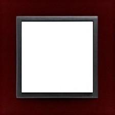 Marco simple Efapel 90910t bs animato rojo intenso gris