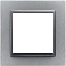 Marco simple Efapel 90910t as animato aluminio gris
