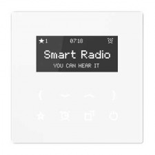 Smart Radio color blanco RAD LS 908 WW serie LS de Jung