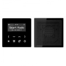 Kit Smart Radio mono color negro RAD LS 918 SW serie LS de Jung