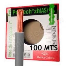 Rollo de cable 1.5mm gris 100m normal flexible H071-K