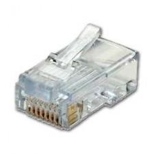 Conector RJ45 informatica cat5 cat6 UTP