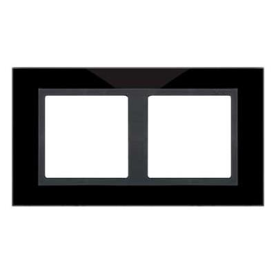Marco cristal negro 2 elementos 82827-32 Simon 82 Nature