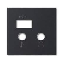 Tapa módulo entrada salida USB n2268.3 an antracita niessen zenit