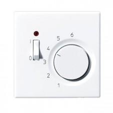 Termostato sólo calefacción Jung TR LS 231 ww blanco alpino