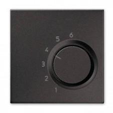 Termostato calefacción refrigeración Jung TR AL 236 AN antracita aluminio