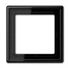 Marco simple 1 elemento jung ls 981 sw negro