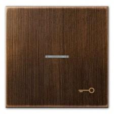 Tecla pulsador con visor simbolo puerta jung ME 2990 KO5 T AT