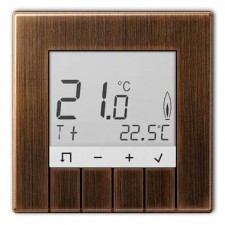 Termostato estandar display Jung TR D ME 231 AT