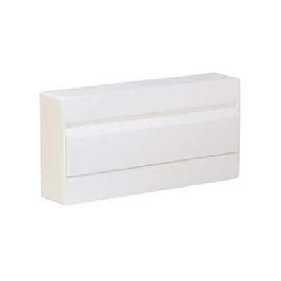 Caja de superficie 18 módulos serie golf VD Hager VD118NE