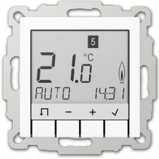 Termostato programador display jung TRUD A 231 WW