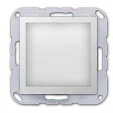 Baliza autónoma con LED jung A EC AL aluminio