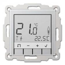 Termostato estandar display jung TR D A 231 Al aluminio