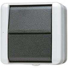 Interruptor conmutador estanco con tecla 806 W WG 800 Jung