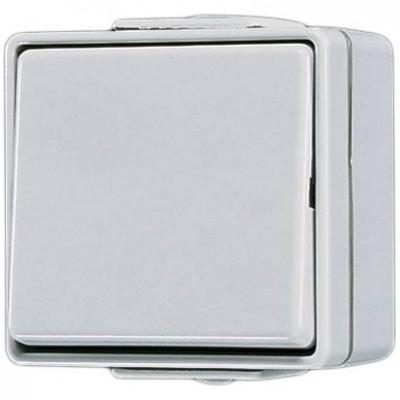 Interruptor estanco con tecla 601 W WG 600 Jung