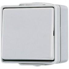 Conmutador estanco con tecla 606 W WG 600 Jung