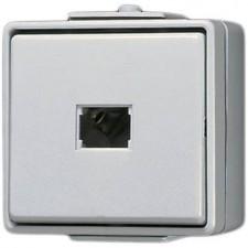 Pulsador estanco con tecla 631W WG 600 Jung