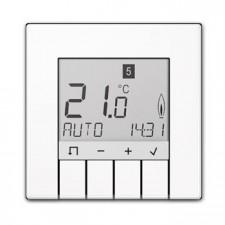 Termostato programador universal display Jung TR UD LS 231 WW
