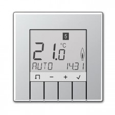 Termostato programador universal display Jung TR UD AL 231