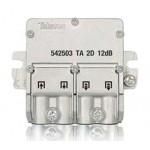 Mini derivador 1 planta 2 salidas 5/2400mhz 542503 Televes