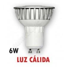 Bombilla dicroica LED 6w Gu10 60º 2700k S-Line