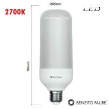 Bombilla LED SIL 20W E27 2700K Beneito & Faure
