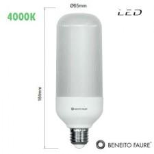 Bombilla LED SIL 20W E27 4000K Beneito & Faure