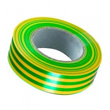 Cinta aislante verde amarilla BIZ 350 078 19mm x 20m