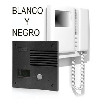 Videoportero BLANCO Y NEGRO Golmar SV-801SE GRF kit antivandálico 11758015A
