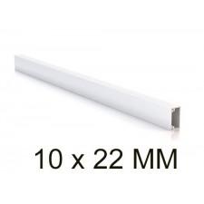 Canaleta blanca unex 78022-2 minicanal sin tabique 10x22mm