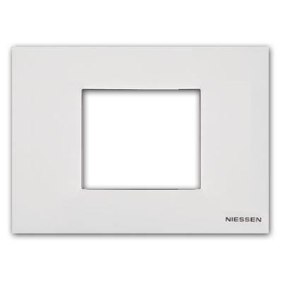 Marco caja americana monocaja n2473 bl blanco zenit - Niessen zenit precios ...
