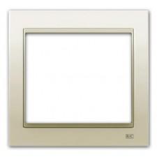 Marco de 1 elemento BJC Mega 22001-bp blanco perla mabe