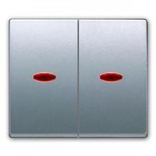 Tecla doble con visor BJC Mega 22709-apl