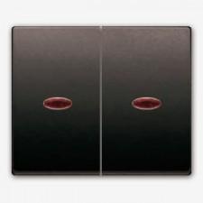 Tecla doble con visor BJC Mega 22709-msl