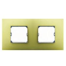 Marco 2 elementos color amarillo 27772-61 simon 27 neos