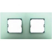 Marco color verde Simon 27 Neos 2 elementos 27772-62