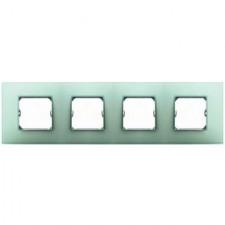 Marco color verde Simon 27 Neos 4 elementos 27774-62