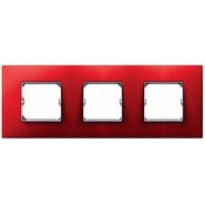 Marco color rojo Simon 27 Neos 3 elementos 27773-66