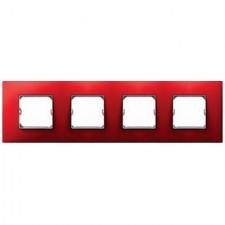 Marco color rojo Simon 27 Neos 4 elementos 27774-66