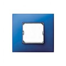 Marco 1 elemento azul eléctrico Simon 27 Neos 27771-67