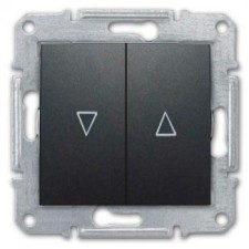 Interruptor persianas Schneider Sedna SDN1300370 grafito