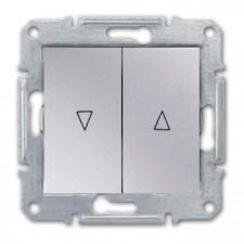 Pulsadores persianas Schneider Sedna SDN1300160 aluminio