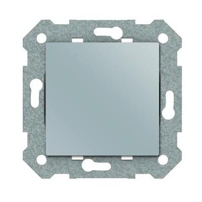 Interruptor BJC Viva 23505-PL plata luna