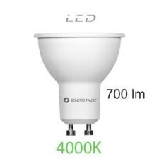 Bombilla led SYSTEM GU10 8W luz intermedia Beneito & Faure