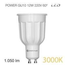 Bombilla led POWER GU10 12W luz cálida Beneito & Faure