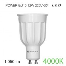 Bombilla led POWER GU10 12W luz intermedia Beneito & Faure