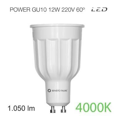 Bombilla led POWER GU10 12W luz intermedia Beneito & Faure