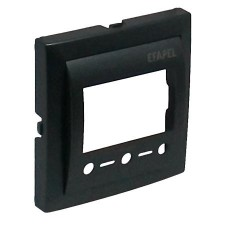 Tapa termostato digital Efapel con IR 90742 T IS GRIS GRAFITO