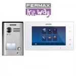 Kit videoportero Way 1línea 1401 Fermax