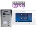 Kit videoportero Way 2 líneas 1402 Fermax